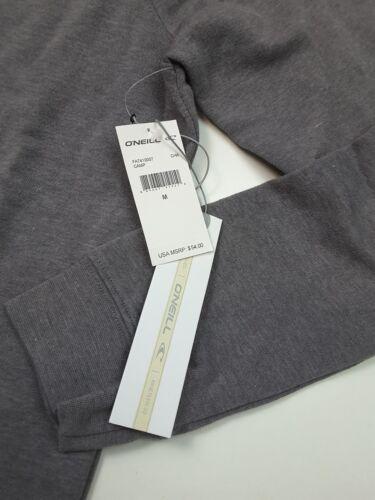 O/'Neill Women/'s Camp Palm Pullover Sweatshirt Fleece Charcoal Size M
