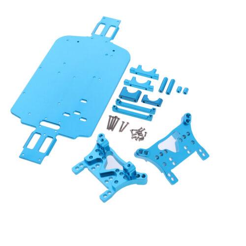 Stoßdämpferhalter für Wltoys A949 A959 A969 1//18 RC Auto Metall Chassis