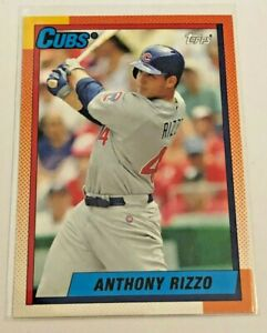 2013-Topps-Archives-Baseball-Base-Card-Anthony-Rizzo-Chicago-Cubs