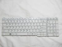 For Toshiba Satellite Aebl6u00110 Us Keyboard White
