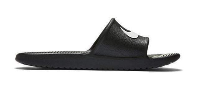 5dc28cea5 Nike Women and Men Beach Shoes Kawa Shower Slide Bath Slippers Black ...