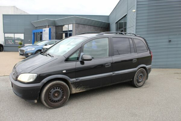 Opel Zafira 1,6 16V Elegance - billede 1