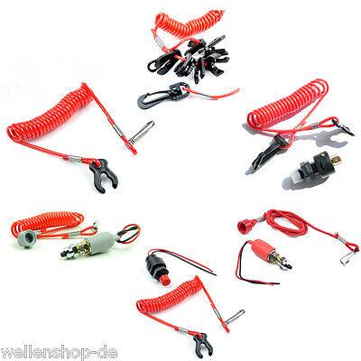 Schalter mit Reißleine für Boote Schlauchboot Notstopschalter Quickstop og