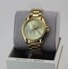 ff95a32fc1e7 MK6185 Women s Michael Kors Kacie 2 Tone Watch Classic Blue Dial for ...
