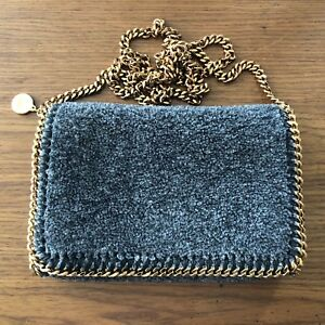 5c4bccffe0 Image is loading Stella-McCartney-Falabella-crossbody-clutch-pouch-in-034-