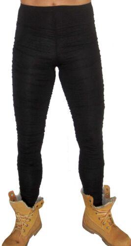 BRAND MENS GLAM ROCK PUNK STRETCH PANTS LEGGINGS MEGGINGS BLACK S M L 2XL 3X 4XL