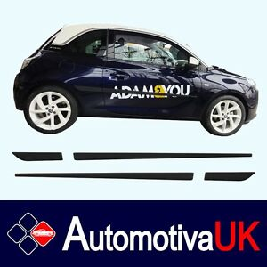 Vauxhall Adam Rubbing StripsDoor ProtectorsSide Mouldings Body Kit