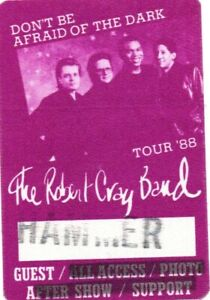Robert-Cray-1988-Hammersmith-Odeon-Ticket-and-3-x-unused-backstage-passes