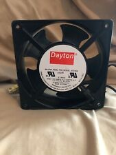 Dayton Axial Fan 55 Cfm Axial Fan Model 4c548a