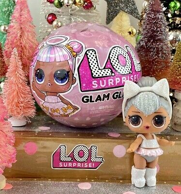 Brand New LOL Surprise Glam Glitter Series Ultra Rare Kitty Queen Resealed Ball