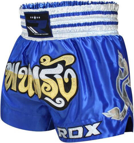 RDX Muay Thai Fight Shorts MMA Grappling Kick Boxing Trunks Martial Arts ML