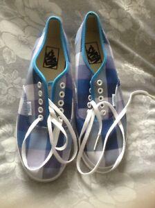 ginnastica blu a Vans Uk 7 nuove taglia Scarpe quadri da U5IEqA