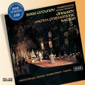 BORIS-GODUNOW-GA-HERBERT-VON-KARAJAN-3-CD-BOX-NEW