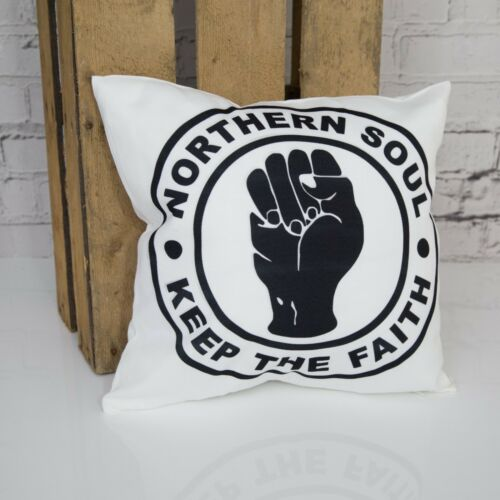 Northern Soul Keep The Faith Cushion PillowGreat Gift Present Birthday