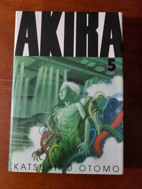 AKIRA VOL 5  HC KATSUHIRO OTOMO MANGA TPB GRAPHIC NOVEL, *accepting offers*