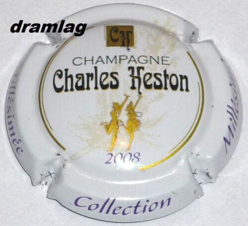 Six coteaux n°24 Capsule de Champagne :  CHARLES HESTON millésime 2008 !