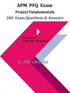 APM-PFQ-Project-Fundamentals-2020-2021-Exam-200-Questions-Answers-BoK-7th-Ed