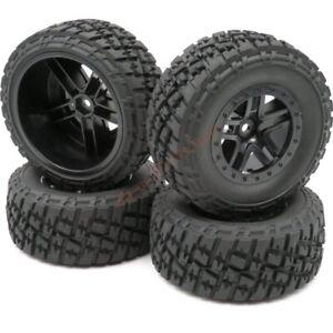 4pcs-RC-1-10-short-course-SC-Truck-Buggy-tires-Tyres-amp-2-2-3-0-wheels-Hex-12mm