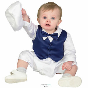 54d05cf02 Baby Boys Christening Outfit   Christening Suit 3pc Suit Navy Bow ...