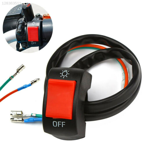 6EC9 Motorcycle Switch Fog Spot Light Lights Handlebar Switch ON//OFF Motorbike
