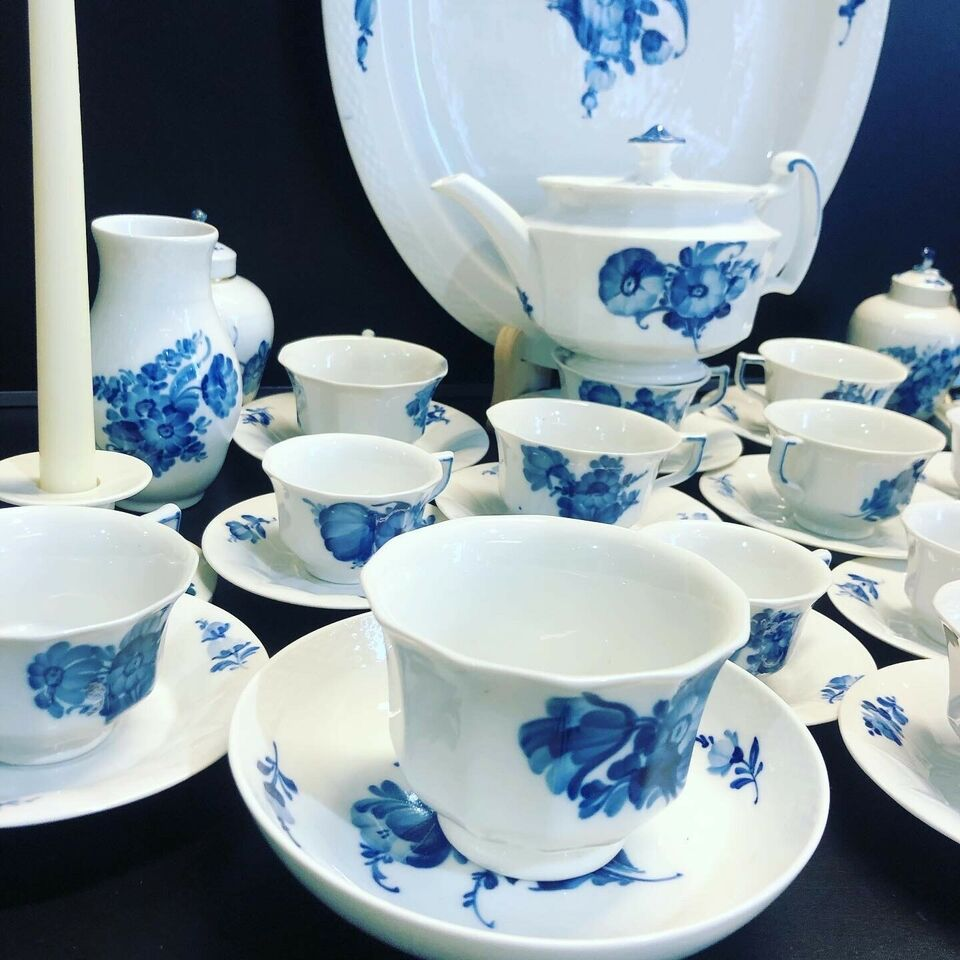 Porcelæn, Vase - kopper - tekande - Flødekande - lampe-