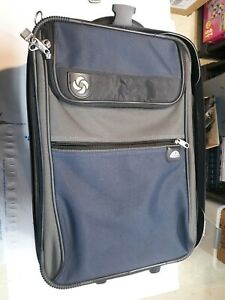 Samsonite Small Wheeled Carry On Blue Excellent Condition