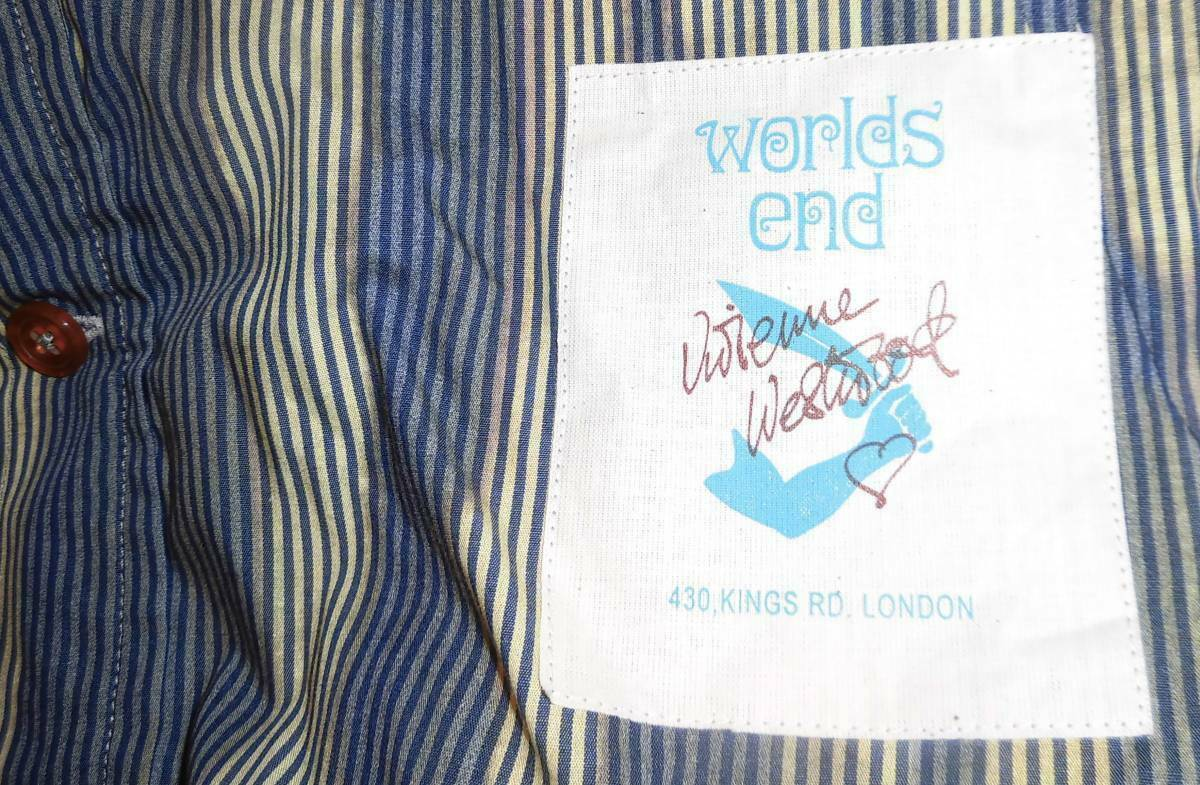 2010 Vivienne Westwood Anarchy Shirt Worlds end S… - image 4