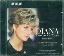 Diana - Princess Of Wales - 1961-1997 -Bbc Recording Of Funeral Cd Eccellente