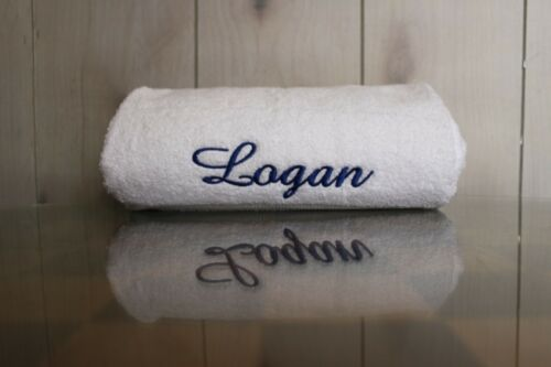 Custom Embroidery Towels Perfect for Anyone Different Sets Colors Names