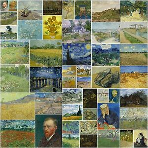 122 vintage paintings by vincent van gogh in very high resolution on