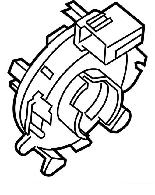 2008 Nissan Altima Clock Spring Oem 25554ja010 Clockspring For Sale