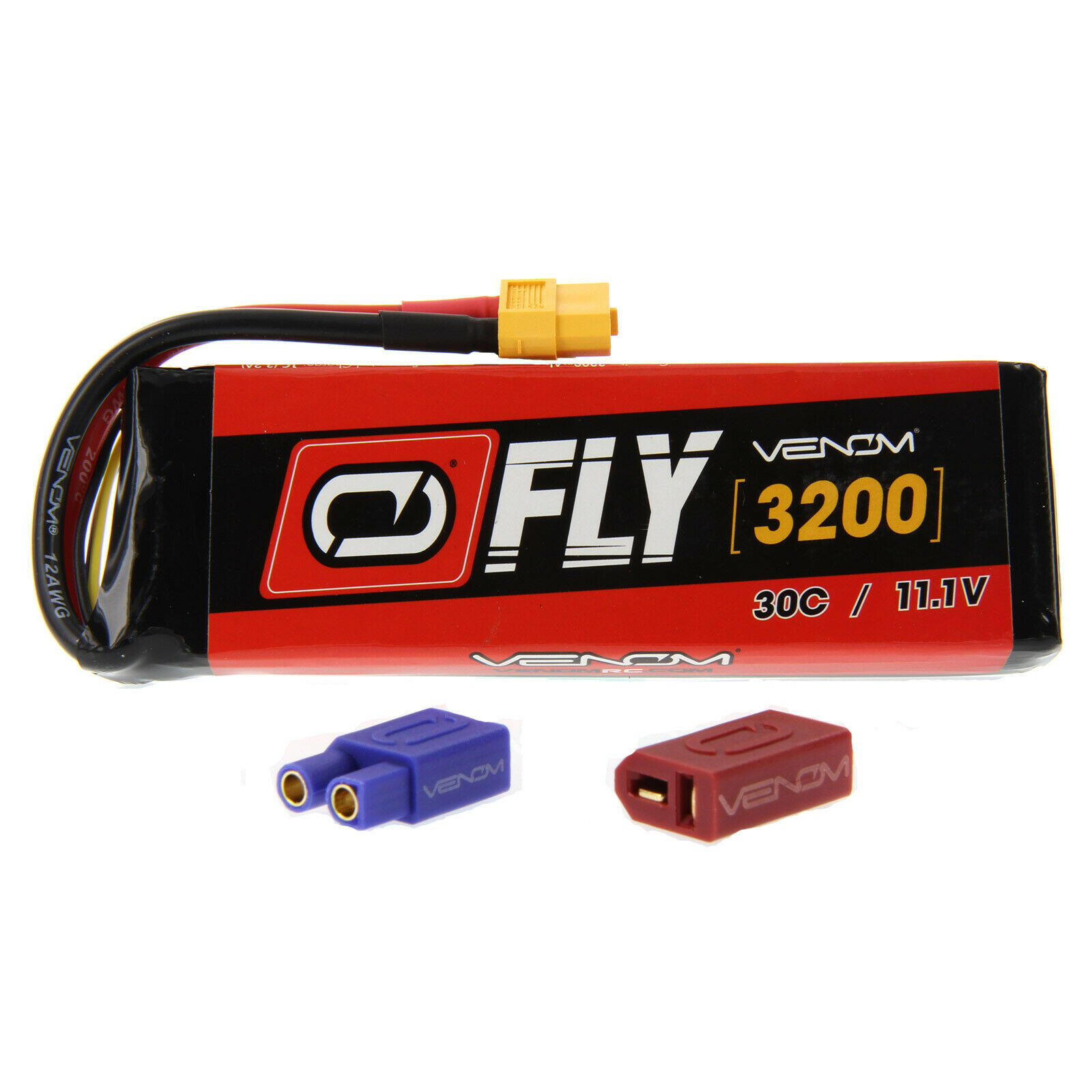 E-flite Pulse 15e 30C 3S  3200mAh 11.1V LiPo Battery with UNI 2.0 plug by Venom  economico e di alta qualità