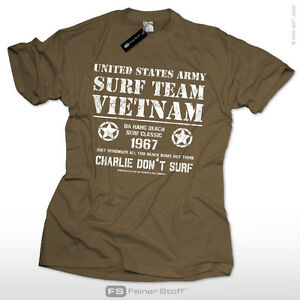 Charlie-dont-surf-Apocalypse-now-T-Shirt-US-Army-Vietnam-Surf-Team-Skater-1967