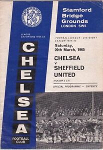 CHELSEA-V-SHEFFIELD-UNITED-DIVISION-ONE-20-3-65