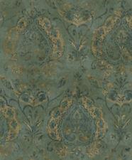 EDEM 966-26 Vliestapete Royal Barock Damask Ornament braun lila blau10,65 qm