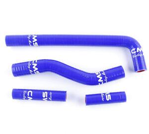 YAMAHA YZ250F 2002-2005 WR250F 2001-2006 2003 2004 SILICONE RADIATOR HOSE BLUE