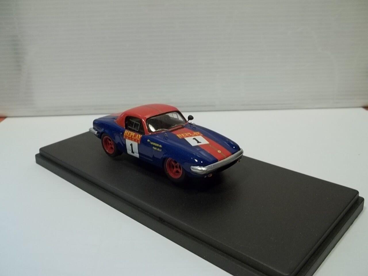 Pit model lotus elan repaly monza 1995 sc1 43,realdy built