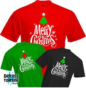 Christmas Shirt.Details About Merry Christmas T Shirt Festive Jolly Season Xmas Fun Cool Quality New