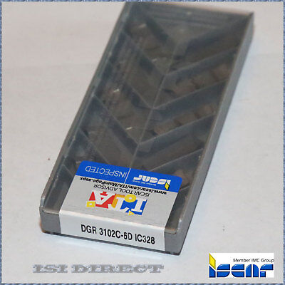 DGN 3102C IC328 ISCAR *** 10 INSERTS *** FACTORY PACK ***