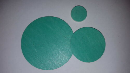 2 x bespoke fibre disc disques 0.4mm thk-pick own diamètre extérieur KLINGERSIL