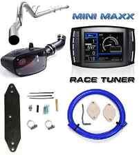 "H&S Mini Maxx Tuner DPF EGR Delete 4"" Exhaust S&B Ford 6.7L Powerstroke Diesel"