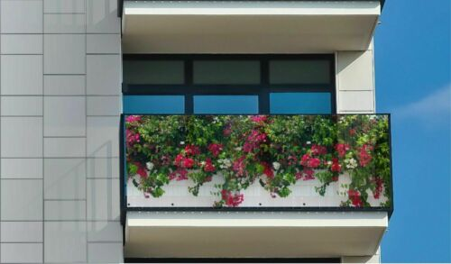 Balcony cover with high quality pressure clamps for free