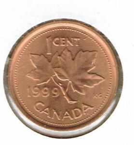 1999-One-Cent-Uncirculated-Canada-Coin