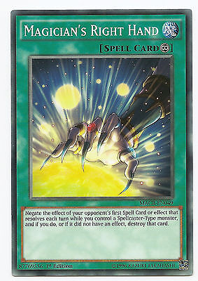 """One Card ONLY! MACR RARE 1st Ed YuGiOh: /""""Magician/'s Restage/"""""""