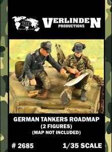 Verlinden-1-35-German-Tankers-Roadmap-without-Map-2-Resin-Figures-Kit-2685