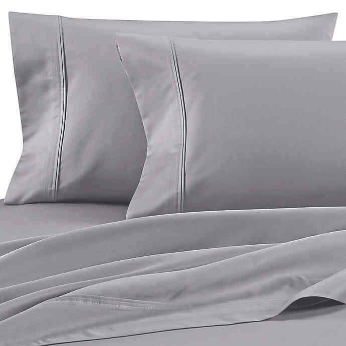 Wamsutta Dream Zone 850-Thread-Count PimaCott King Sheet Set in grau