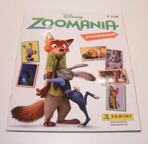 Panini Disney Zoomania - Leeralbum Sammelalbum NEU & OVP