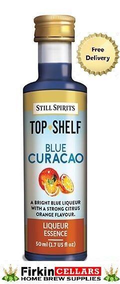 Still Spirits Top Shelf Blue Curacao Liqueur Home Brew Spirit Flavouring Essence