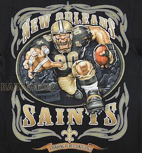 dae847b49 Saints Running Back T-Shirt Black NFL New Orleans Football BABA