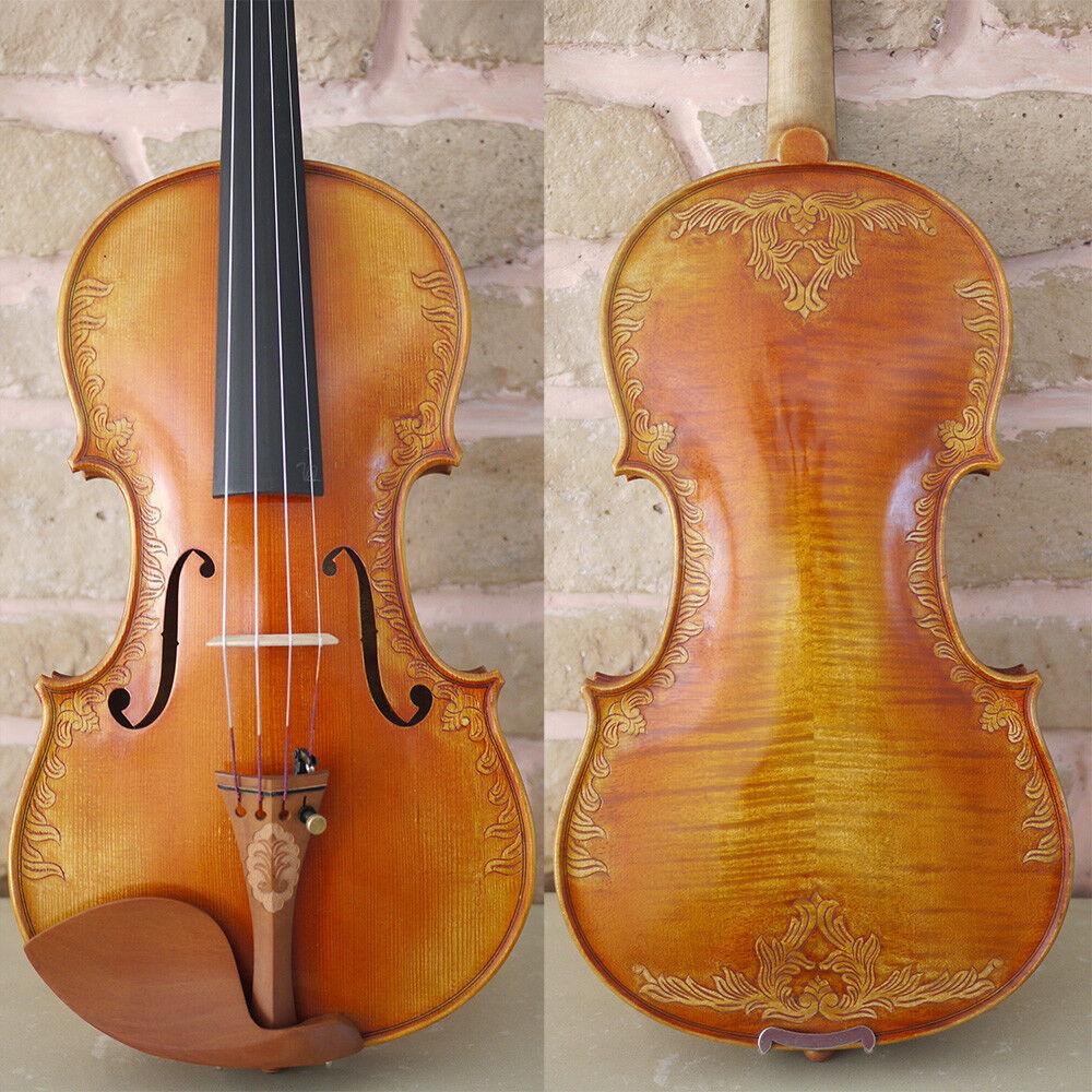 Königliche Geige mit fleur de lys Handmade European Sprece